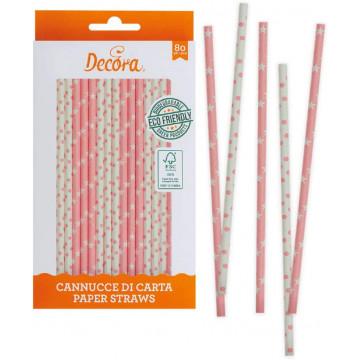 Słomki papierowe - Decora -...