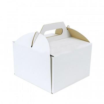 Pudełko na tort z rączką -...