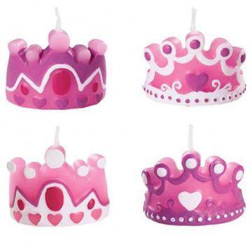 Świeczki urodzinowe korony...