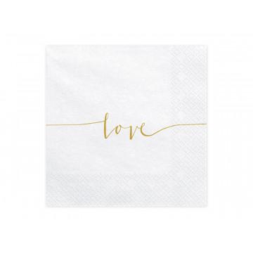 Serwetki papierowe Love -...