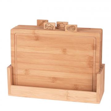 Zestaw bambusowych desek do...