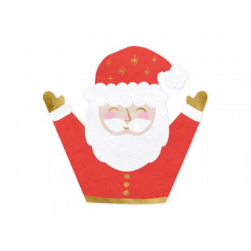 Serwetki świąteczne Mikołaj...