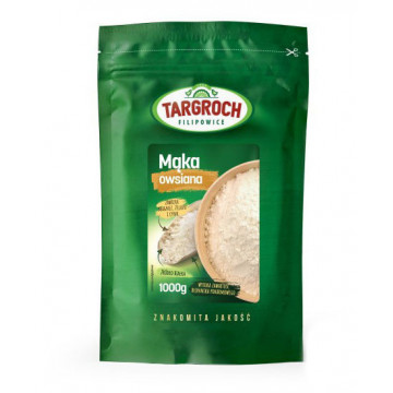 Mąka owsiana - Targroch - 1 kg