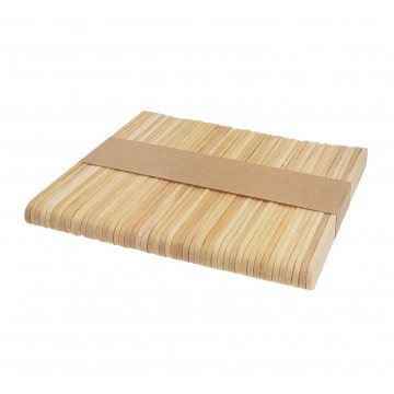Patyczki drewniane do lodów...