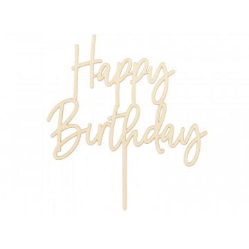 Topper Happy Birthday -...