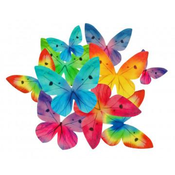 Motylki opłatkowe - Rose...
