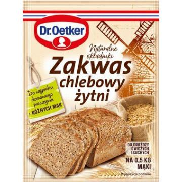 Zakwas chlebowy, żytni -...
