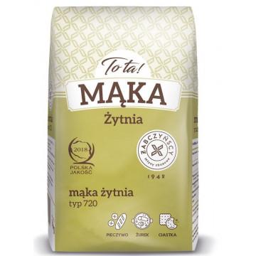 Mąka żytnia - TO TA - typ...