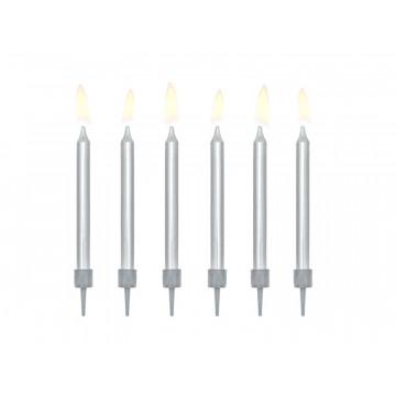 Świeczki urodzinowe gładkie...