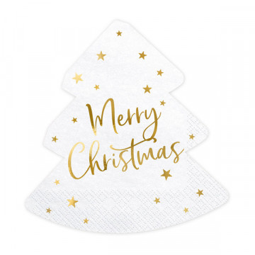Serwetki Merry Christmas -...