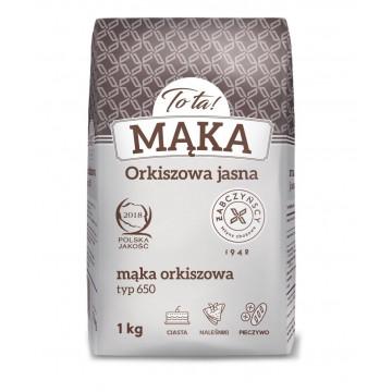 Mąka orkiszowa, jasna - TO...