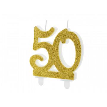 Świeczka urodzinowa liczba...
