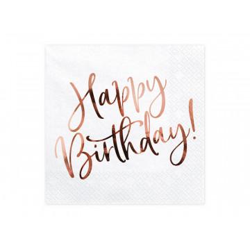 Serwetki Happy Birthday -...
