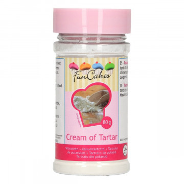 Cream of tartar, lukier -...