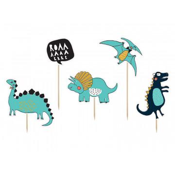 Toppery na tort Dinozaury -...